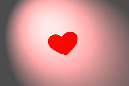 Heart shaded Banco de Imagens