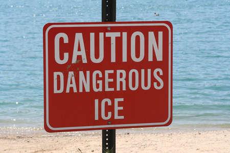 Caution Sign Reklamní fotografie