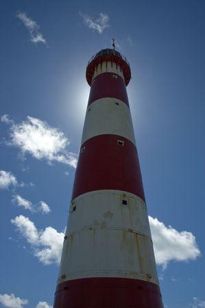 Lighthouse against the sky