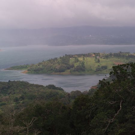 Lake Arenal Costa Rica,Costa Rican landscape Stock Photo - 2334979