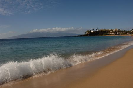 Lifestyle Maui,Footprints in the sand Stock Photo - 2347721