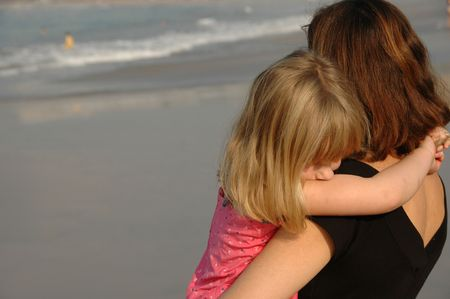 Family Lifestyle Mexico,Daughter hugging mother Stock fotó