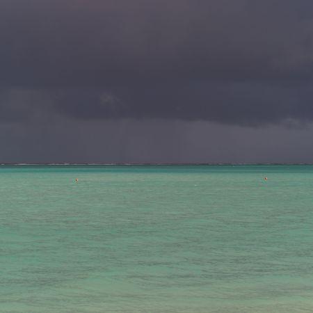 Parrot Cay,Dark sky over Parrot Cay