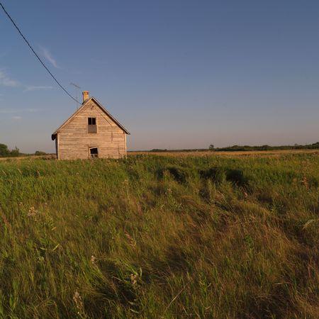 derelict: Canadian Prairies,Derelict house