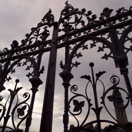 fence: Ottawa Ontario Canada,Decorative Iron Fence Parliament Hill Ottawa