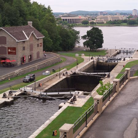 rideau canal: Ottawa Ontario Canada,Rideau Canal in Ottawa