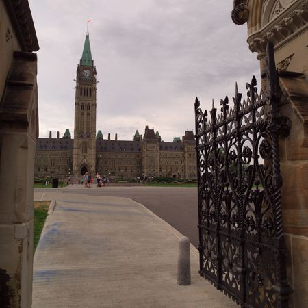 ironworks: Ottawa Ontario Canada,Peace Tower at Parliament Hill