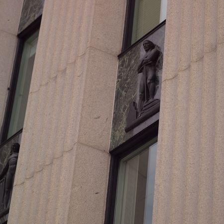 Ottawa Ontario Canada,Carving on façade of building
