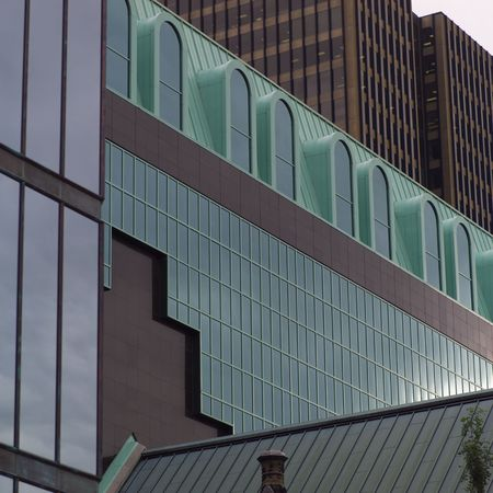 Ottawa Ontario Canada,Glass Façade of Buildings in Ottawa