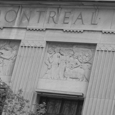 eacute: Ottawa, Ontario Canada, la Bank of Montreal Archivio Fotografico