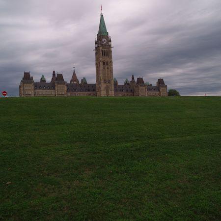 parliaments: Ottawa Ontario Canada,Parliament Hill Stock Photo