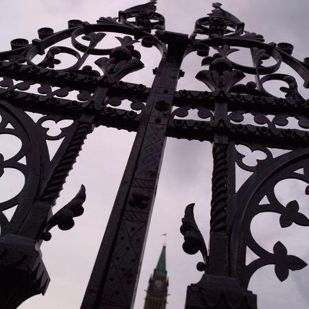 ironworks: Ottawa Ontario Canada,Decorative Iron Fence Parliament Hill Ottawa