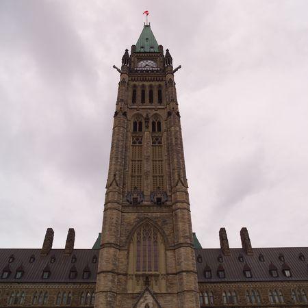 Ottawa Ontario Canada,Parliament Buildings in Ottawa Stock Photo - 2347703