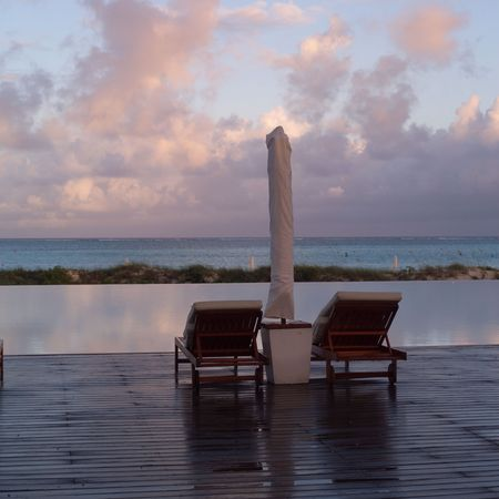 calming: Parrot Cay,Lounge chairs