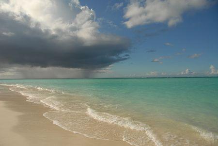 cay: Parrot Cay,Parrot cay beach Stock Photo
