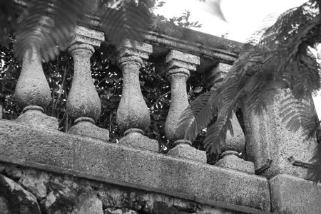 spindles: Parrot Cay,Stone spindles