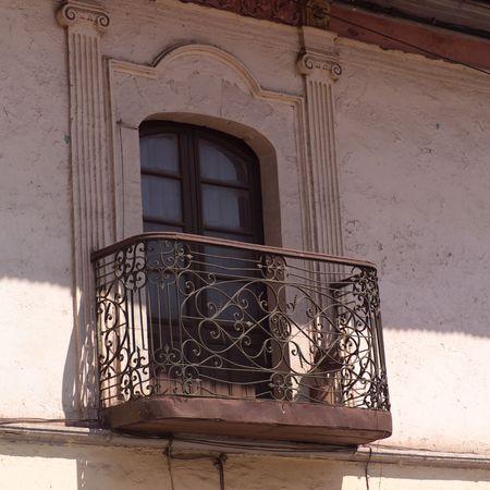 Cusco Peru, Iron rod balcony
