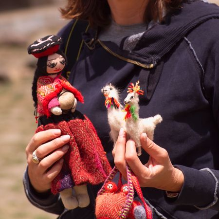 Child Fund - Peru, Peruvian toys Stock Photo - 2349714
