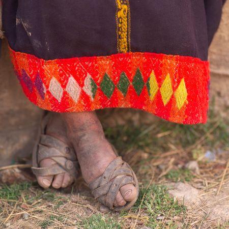 dirty feet: Child Fund - Peru, Dirty feet in sandal