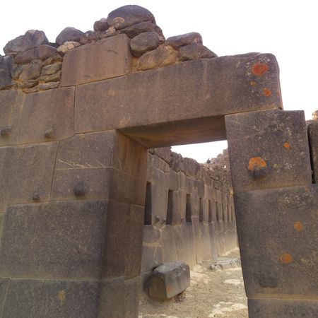 Ollantaytambo Ruins in Peru, Ollantaytambo Ruins in Peru
