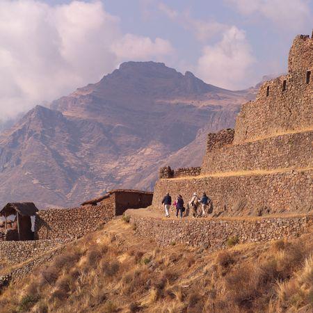 pisaq: Ruins of Pisaq - Temple of the Sun in Peru, Temple of the Sun in Peru