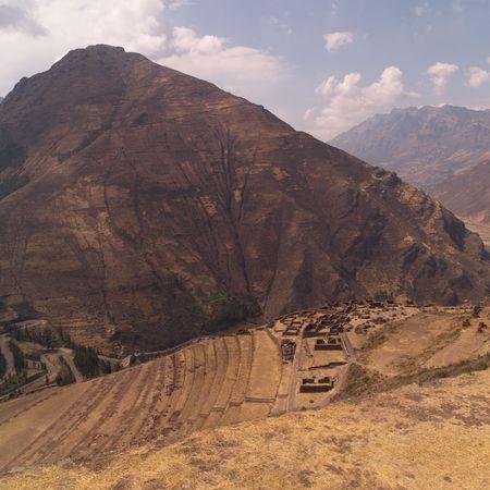 pisaq: Ruins of Pisaq - Temple of the Sun in Peru, Tier levels on Mountainside