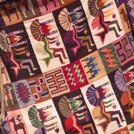 pisaq: Pisaq Market in Peru, Handmade blanket
