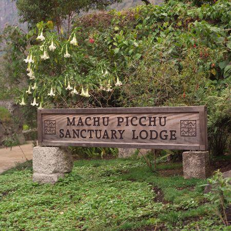 Pérou - Machu Picchu, Machu Picchu Sanctuary Lodge Banque d'images - 2383026