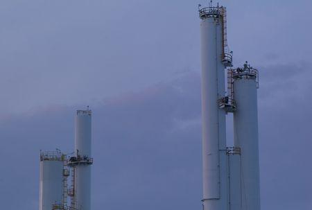 smokestacks: Northern Alberta, Smokestacks in Northern Alberta