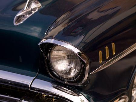 chorme: Branson Missouri, Fender of Vintage Car
