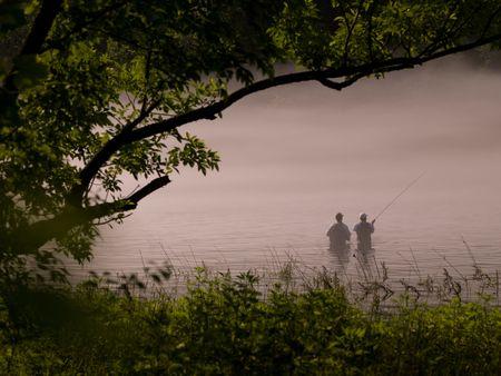 Branson Missouri, People fishing