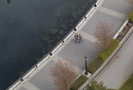 sidewalks: Vancouver British Columbia, Pathyway along ocean