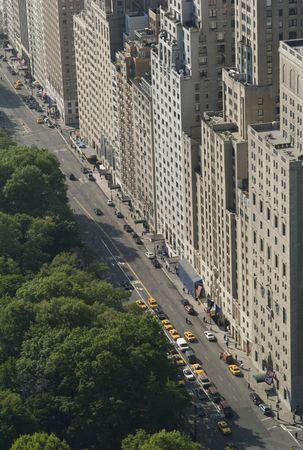 New York City, Aerial View of Manhattan photo