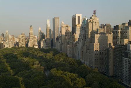 New York City, Aerial View of Manhattan 写真素材