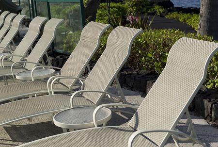 round chairs: Lounge chairs Stock Photo