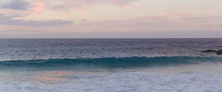 ocean waves: Waves on ocean Stock Photo