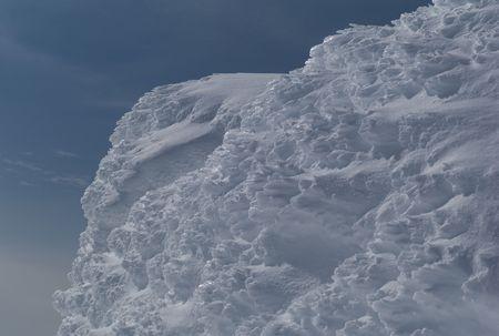 雪と氷の塔 写真素材
