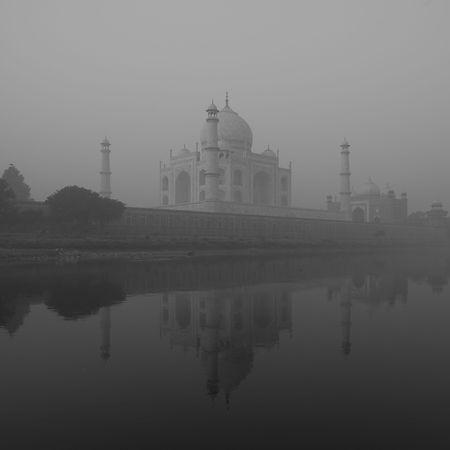 Taj Mahal, Agra India 写真素材