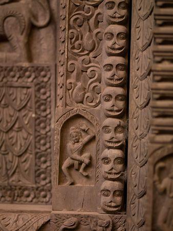 ccedil: Varanasi, India - Faandamp,ccedil,ade of building
