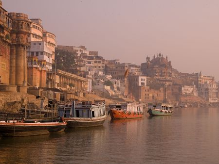 ganges: Varanasi, India - Life on the Ganges
