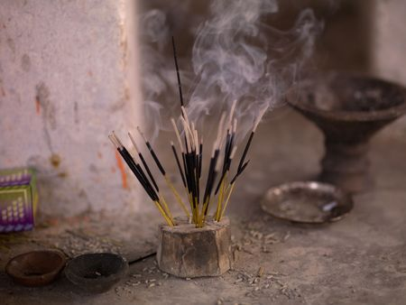 Rajasthan, India - incense