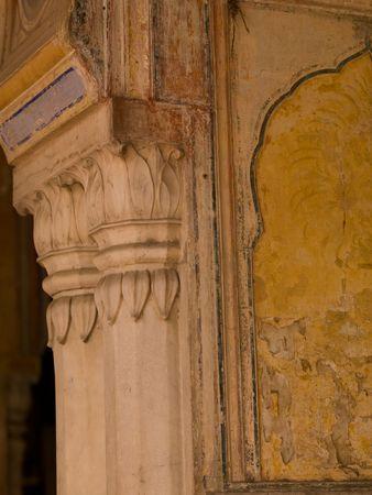 Jaipur, India - interior wall Banco de Imagens - 5266750