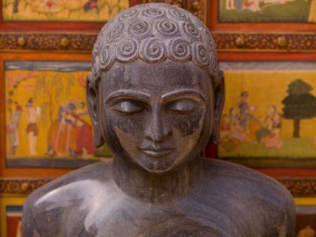 Jaipur, India - carved statue Stock fotó