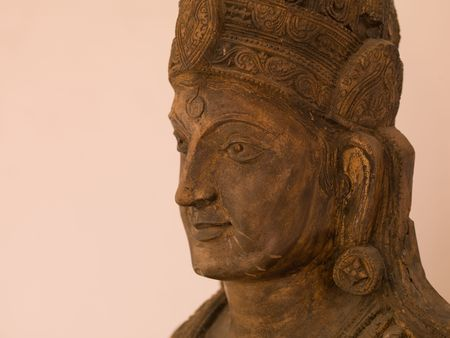 Jaipur, India - head of a statue