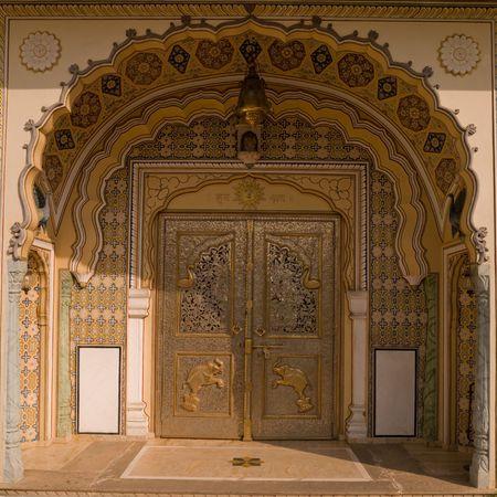 elaborate: Jaipur, India - elaborate entranceway
