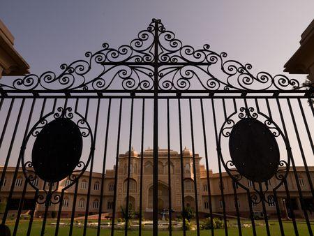 ironworks: Jaipur, India - closed gates