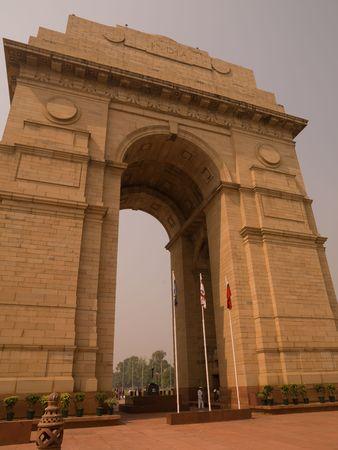 monument in india: India Gate Monument in Delhi India Stock Photo