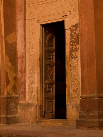 Open doorway at Fatehpur Sikri, India - City of Victory, Agra