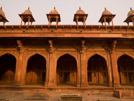 Fort in Fatehpur Sikri, India - Stad van de Overwinning, Agra