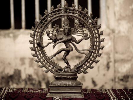 levit: Circular figurine in Jewtown, Cochin, Kerala, India Stock Photo